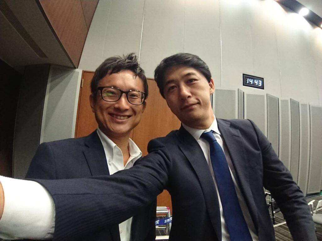 山岸一生と松尾あきひろさん