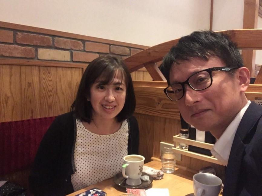 声楽家の成田伊美さんと